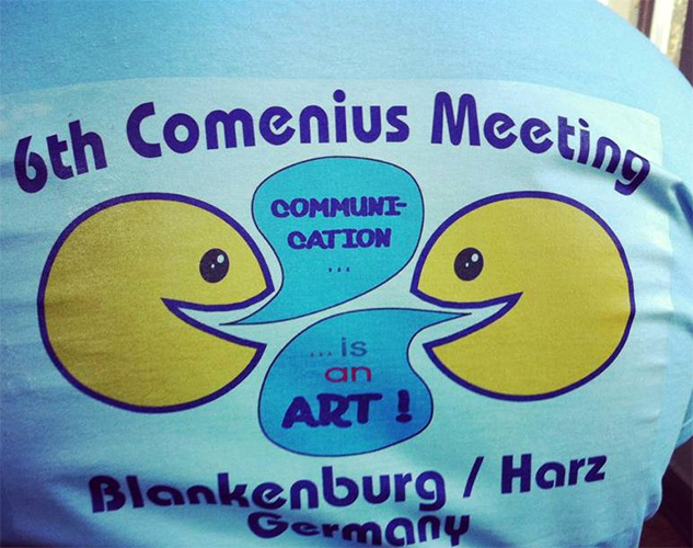 Comenius T-shirt